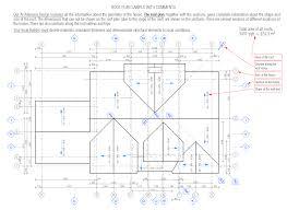 roof plan sample metric section sample metric