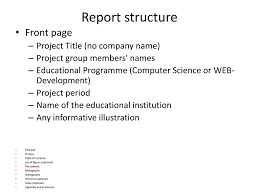 front page for computer project dissertation course day 4 ppt download