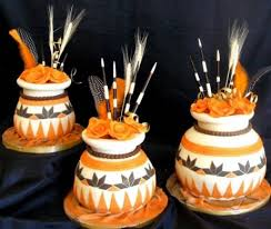 Traditional African Wedding Cakes Wedding Party