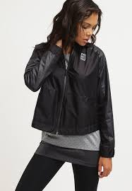 nike sportswear court er jacket black black women clothing jackets nike huarache