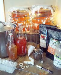 brewing homemade kombucha supplies