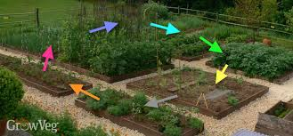 Crop Rotation Chart Vegetable Gardening Easy Crop Rotation Using The Colors Of The Rainbow