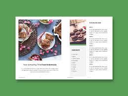 Microsoft Publisher Cookbook Template Recipe Book Template