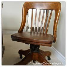 antique wooden office chair. antique wood office chair this great swivel pairs perfect with desk 2perfection decor blogger wooden a