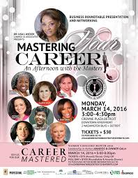panelists announced for 2016 career mastered executive business round table on march 14