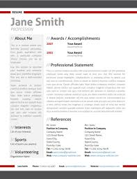 Modern - Resume - Red_002