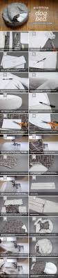 Dog Bed Patterns Custom How To Make A DIY Burrow Dog Bed