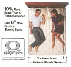 olympic queen bed. Interesting Olympic Man And Woman Enjoying The Extra 10 Percent Width Of Olympic Queen Bed For Queen Bed I