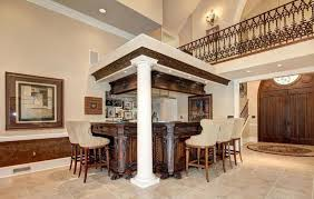 custom home bar furniture. Luxury Home Bar With Decorative Wood Cabinet Custom Furniture