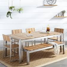 oak dining room sets. Top 59 Top-notch Dining Room Table Sets With Bench White Oak Kitchen Set Design
