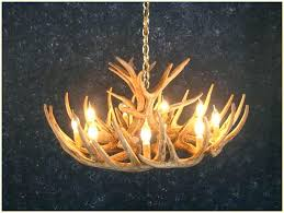 antler chandelier kit small deer antler chandelier deer