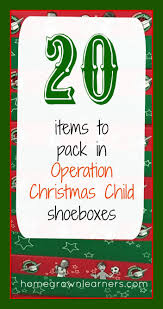 15 best Operation Christmas Child images on Pinterest