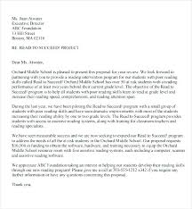 Project Proposal Cover Letters Cover Letter Proposal Sample Cover Letter Proposal Cover Letter Of