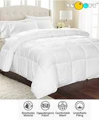 double bed comforter. Interesting Comforter Snoopy Home Ultra Soft Microfibre Double Bed Comforter  King Size Antique  White Intended L