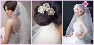 Svatební účesy Se Závojem Pro Krátké Vlasy Fotografických Materiálů