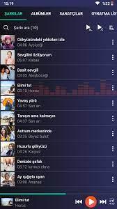 Android için Müzik çalar - APK'yı İndir