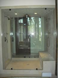 double glass shower walls