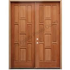 front door doubleFront Doors  Db Emd 823 Dd Cst Custom Modern Wood Double Door Oak