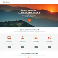 Website Html Templates Top Ten Newest Free Website Template 4