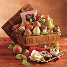 harry david deluxe orchard gift basket