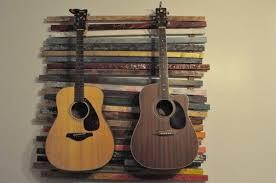 incredible pallet guitar stands