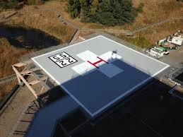 Hospital Heliport Design Battling The Elements Painting The Methodist Hospital