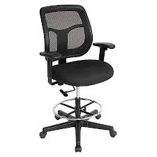 office drafting chair. EUROTECH Apollo Drafting Stool 56 H Office Chair