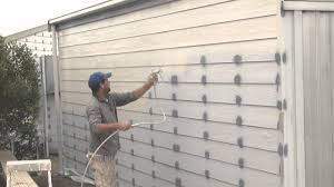 How To Spray A House Airless Spray Painting Exterior Walls - Exterior walls