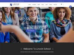 Free Web Templates For Employee Management System Lincoln Education Education Free Html Template Is Suitable