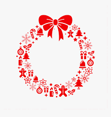 They're very festive and they can be used in all sorts of ways. Transparent Christmas Elements Png Christmas Wreath Svg For Cricut Png Download Transparent Png Image Pngitem