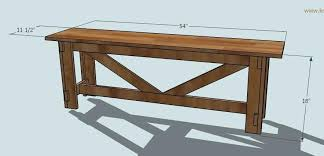 shiny rustic bench plans or dimensions 48 free rustic garden bench plans