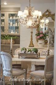 French country dining room furniture Cottage French Country Dining Room Makeover Pinterest They Started By Scraping The Popcorn Ceiling And Wait Until You See
