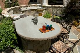 Outdoor Kitchen Countertop Outdoor Kitchen Design Essentials