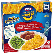 This gnocchi mac and cheese is the perfect dinner recipe! Kraft Macaroni Cheese Chicken Beef Meatballs With Marinara Sauce And Green Beans Dinner Shop Entrees Sides At H E B
