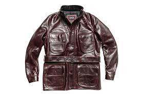 barbour internationl x triumph perfo leather jacket psd