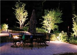 image of outdoor landscape lighting how to