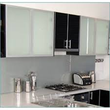 image of design frosted glass cabinet doors