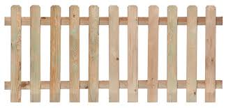 fence. Straight Picket Fence