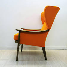 Parker Armchair Vintage Orange Armchair From Knoll For Sale At Armchair  Parker Knoll Armchair Used