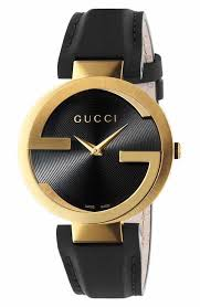 men s gucci watches watches for men nordstrom gucci interlocking leather strap watch 37mm