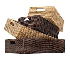 traditional storage baskets for shelves  storage baskets for