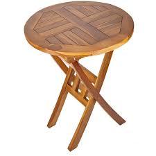 solid hardwood round wooden garden