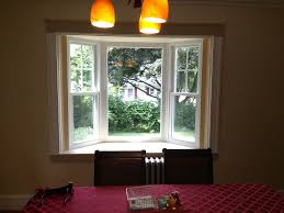 New Bay Window Installation In Waltham Ma Dlm Remodeling - Bay window in dining room