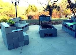 cinder block furniture. Cinder Block Outdoor Furniture Backyard Images About Seating .