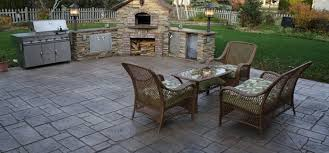 Stamped concrete patio ideas Gardening flowers 101 Gardening