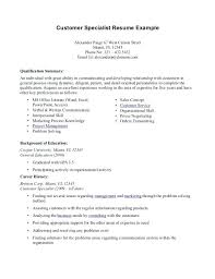 Career Change Resume Summary Examples For Professional Template