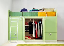 battistella bunker bed with built in wardrobe storage now discontinued