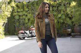h d motorclothes harley davidson women s leather jacket gauges suede 98040