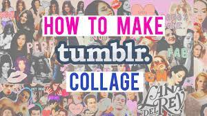 HOW TO MAKE TUMBLR COLLAGE (LOCKSCREEN ...