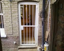 front door gateSingle Front Door Bar Gate  Security Gates  Securifix